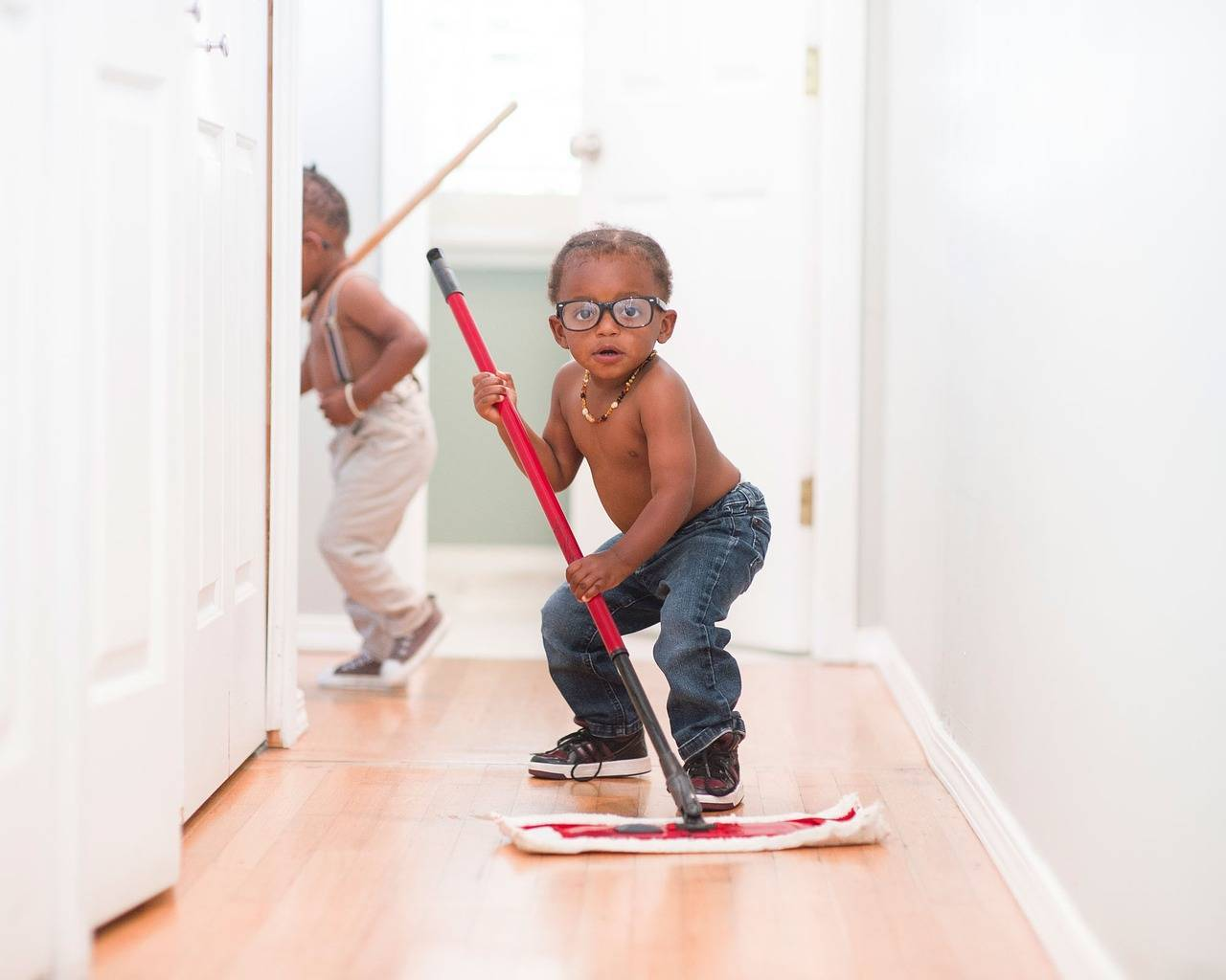Encouraging kids to do household chores, good or bad idea?