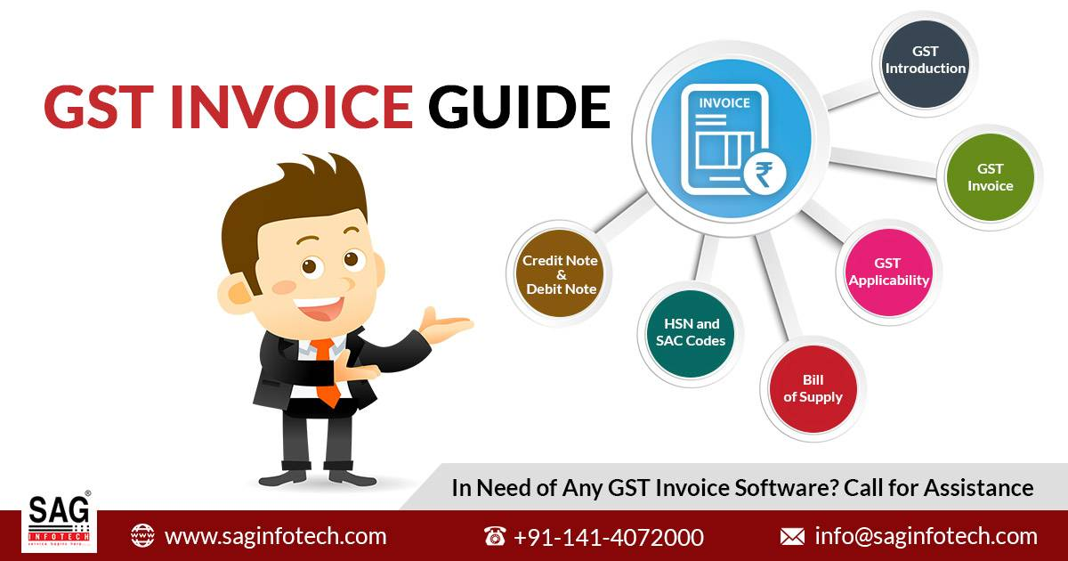 A Narrative Guide on GST Invoice - Introduction, How and When it is applicable
