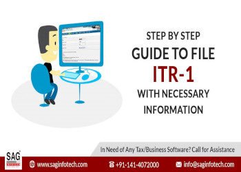 Step by Step Guide to File ITR-1 For FY 2018-19 with Necessary Information