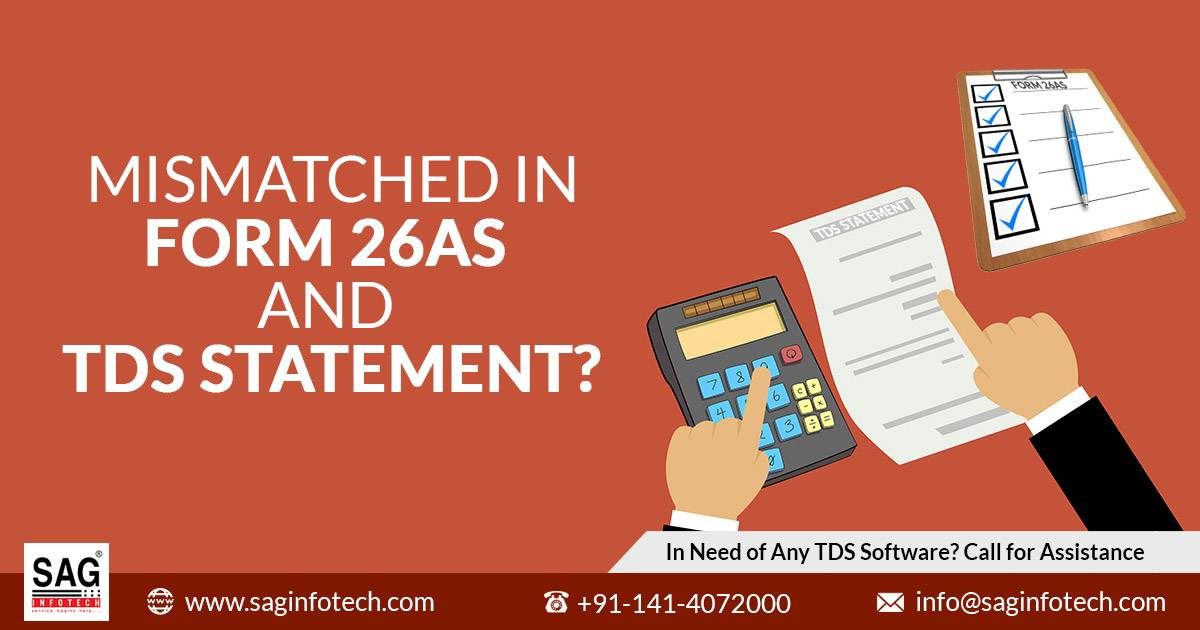 Tips for Rectify Mismatched in Form 26AS & TDS Statement