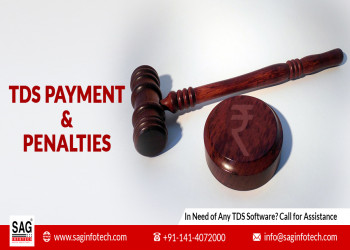 Due Dates for TDS Payment & Penalties  Applicable on Failure