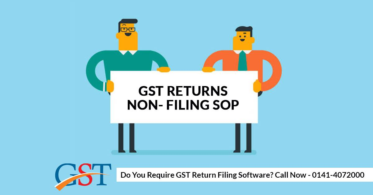 Learn Standard Operating Procedure of GST Returns Non- Filing