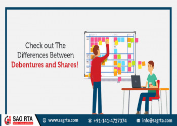 Check out The Differences Between Debentures and Shares!