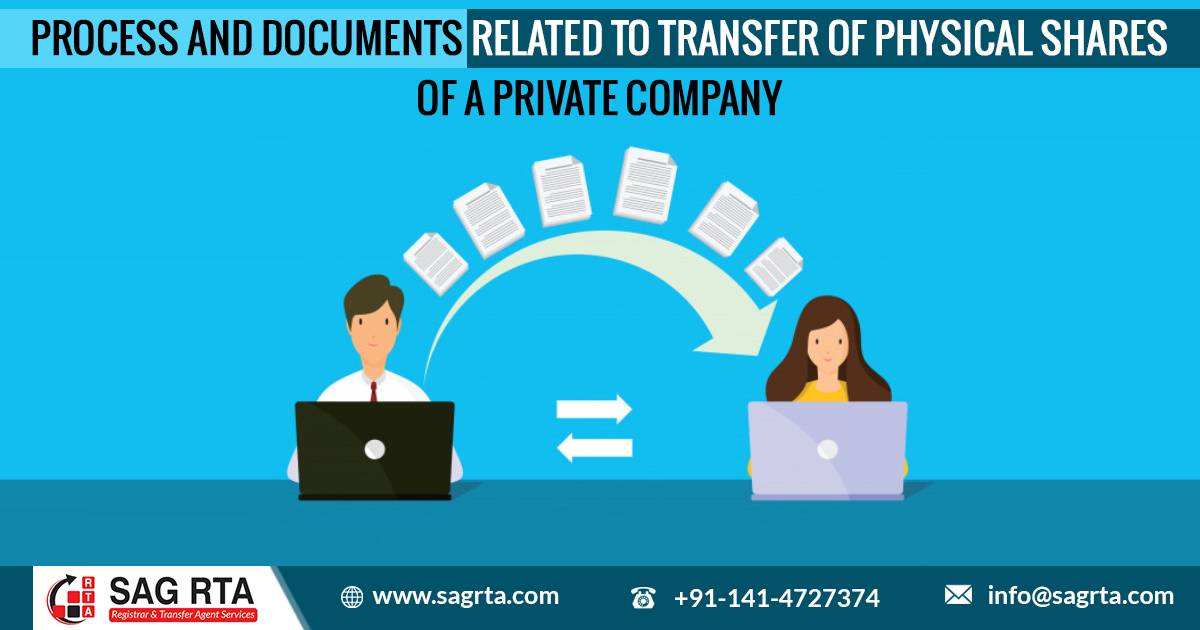 Process and Documents Related to Transfer of Physical Shares of a Private Company
