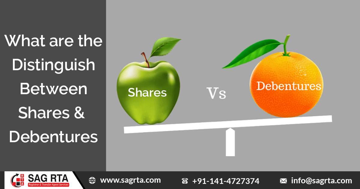Understand Distinguish Between Shares & Debentures – Intro, Benefits & Risks
