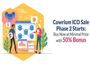 Cowrium ICO Sale Phase 2 Starts: Buy Now at Minimal Price with 50% Bonus
