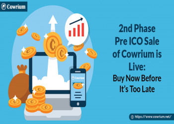 2nd PhasePre ICO Sale of Cowrium is Live: Buy Now Before It's Too Late