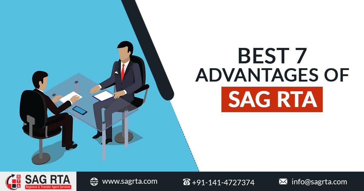 Advantages of SAG RTA