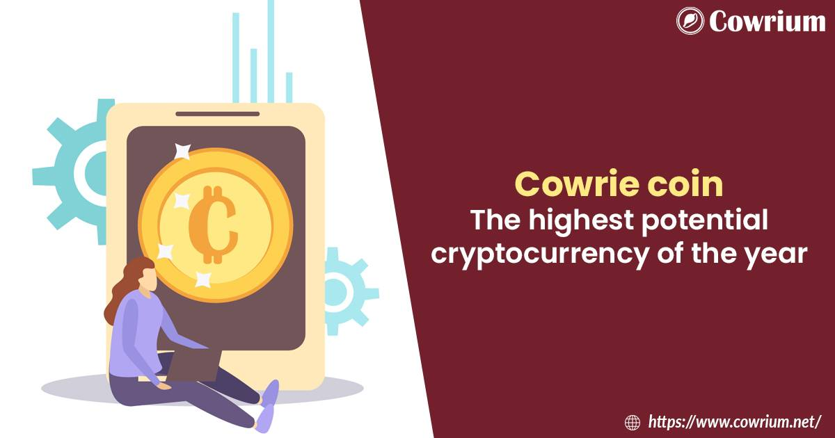 Cowrie coin — The highest potential cryptocurrency of the year