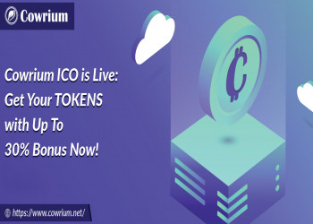 Cowrium ICO is Live: Get Your TOKENS with Up To 30% Bonus Now!