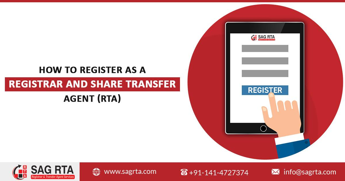 How to Register as a Registrar and Share Transfer Agent (RTA)
