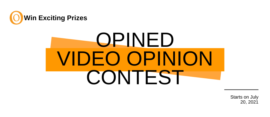 Opined Video Opinion Contest