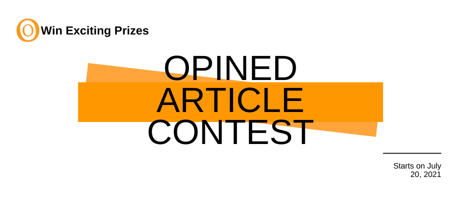 Opined Article Writing Contest