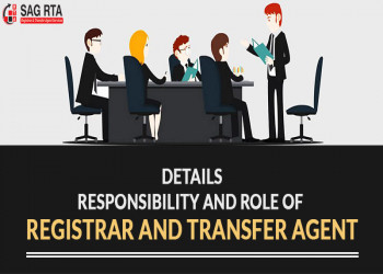 Details Responsibility and Role of Registrar and Transfer Agent