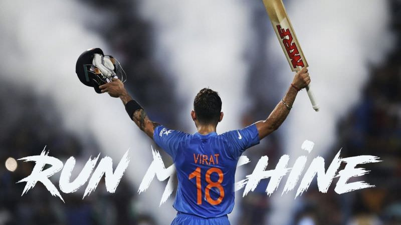 VIRAT KOHLI - THE RUN MACHINE