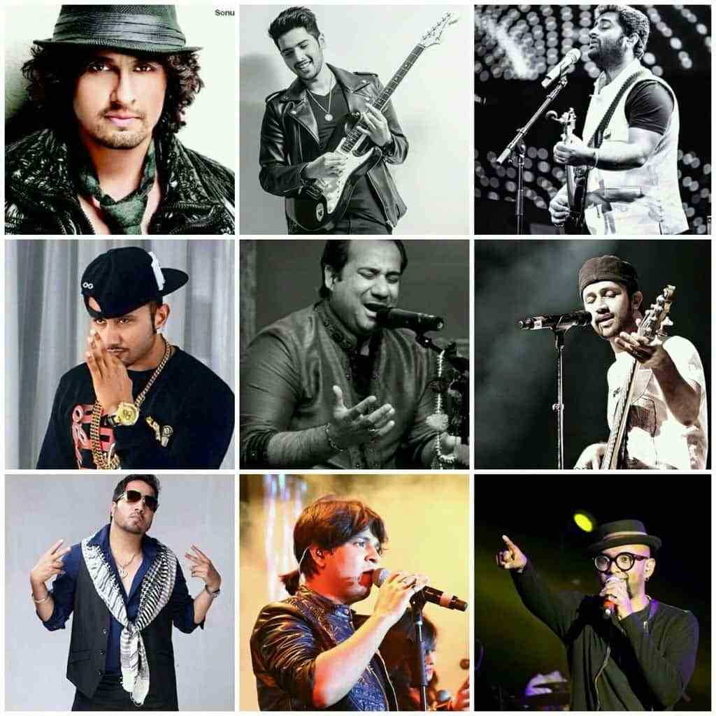 Trending Bollywood Male Singers