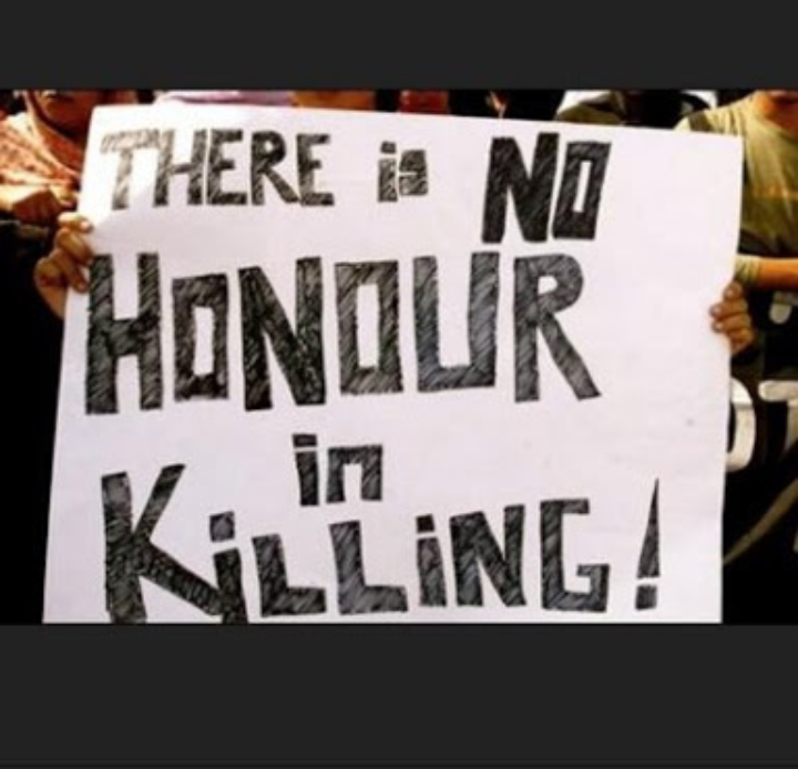 #Honor killing..a sign of fanatism!!