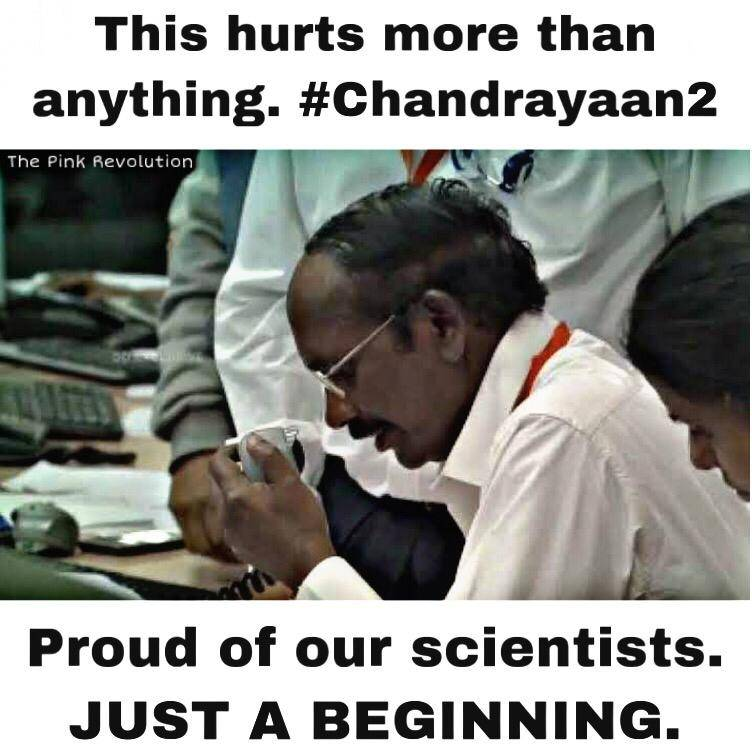 Respect, Chandrayaan2, ISRO