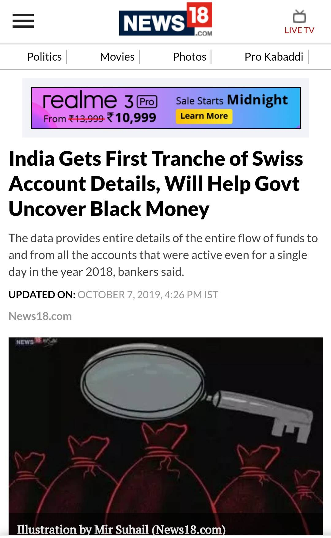 NarendraModi, BJP, FightAgainstCorruption