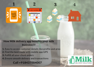 Milk, delivery, solutions