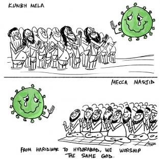 CoronaVirus, CoronaVillains, Stupidity